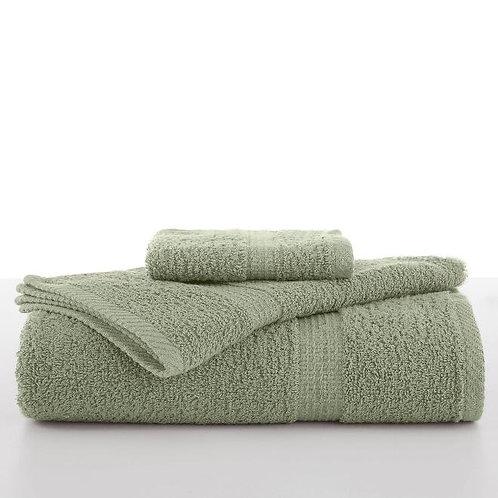 Utica Essential Bath Towel - Basil