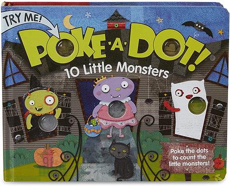BOOK POKE A DOT 10 MONSTERS