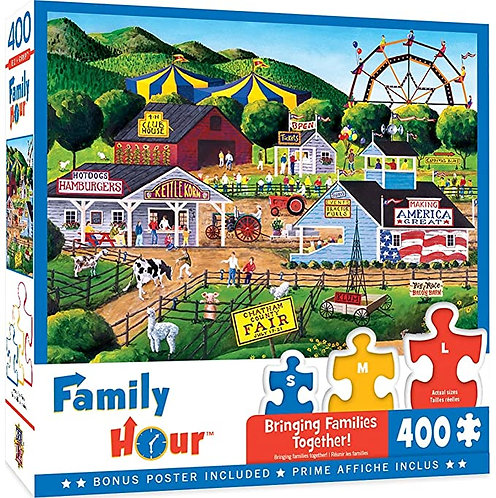 PUZZLE 400 FAMILY SUMMR CARNVAL