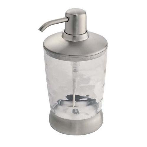 Soap Pump Gina Clear/Brushed