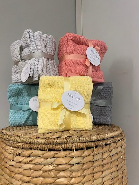 Luxury 6 Pack Wash Cloth - Assorted Colors