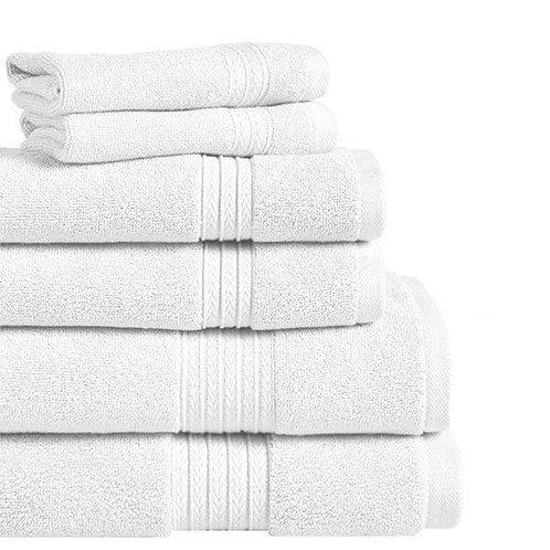Summit Wash Towel - White