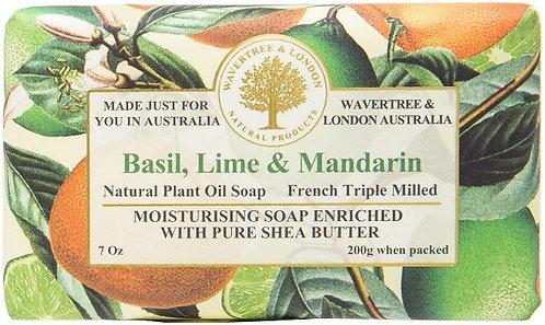 Basil, Lime & Mandarin Bar Soap