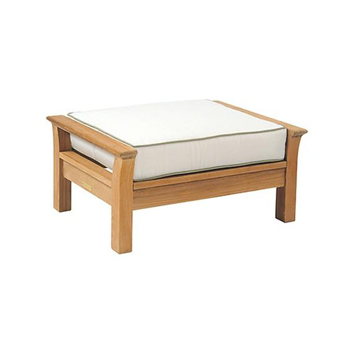 Chelsea Ottoman NVY/WHT Welt Cushion
