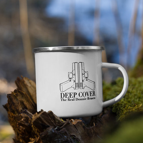 Deep Cover Enamel Mug