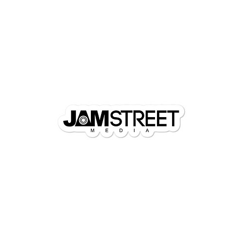 Jam Street Media Bubble-free Sticker