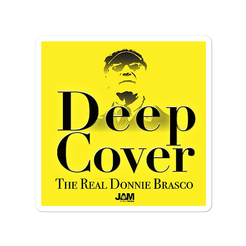Deep Cover - Bubble-free stickers