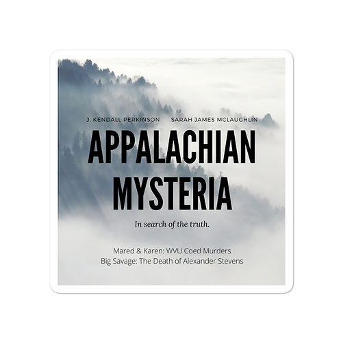 Appalachian Mysteria Bubble-Free Stickers