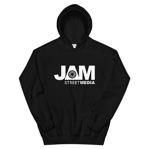 Jam Street Media Pullover Hoodie - White Logo