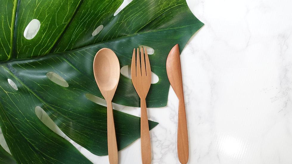 Cutlery Set (Sapodila)
