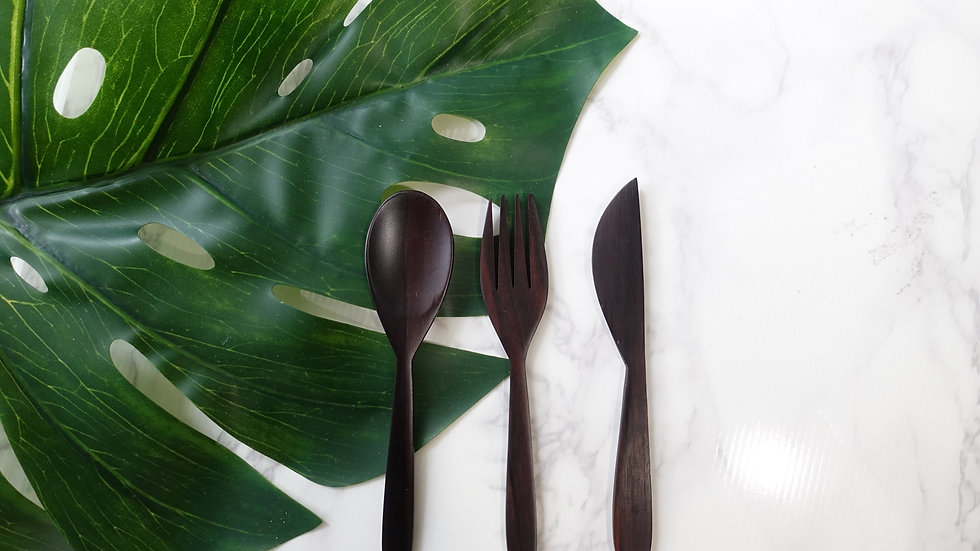 Cutlery Set (Indian Rosewood / Sono)