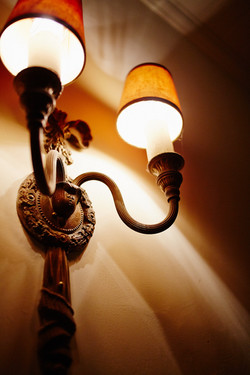Independent Theatre Detail: Lamps