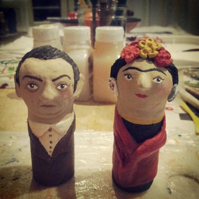 En proceso: Diego y Frida
