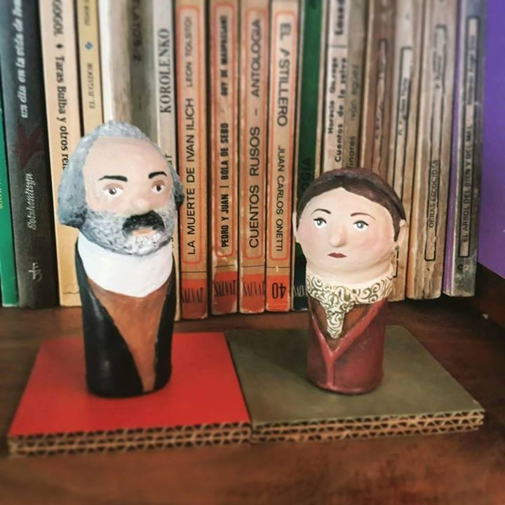 Karl Marx y Simone de Beauvoir