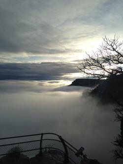 雲海のグランドキャニオン