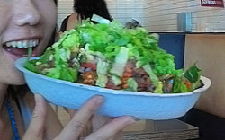 Bowl Burrito ボウルブリトー at Chipotle