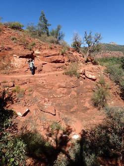 Hiking at Cathedral Rock