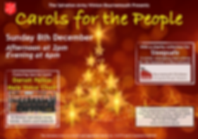 Carols for the people December 8th