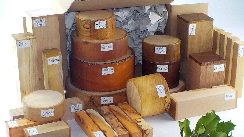 28 Piece Woodturners selection box