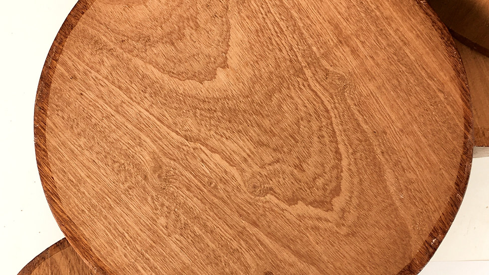 Sapele mahogany woodturning bowl blanks