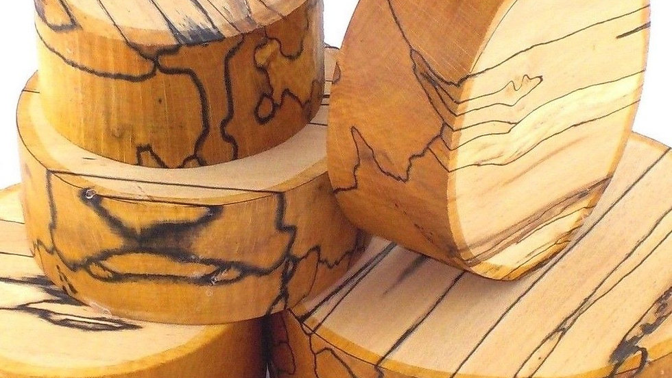 Spalted Beech Bowl Blanks - Beautiful