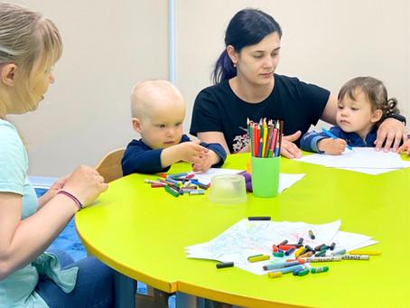 Бесплатные занятия для малышей