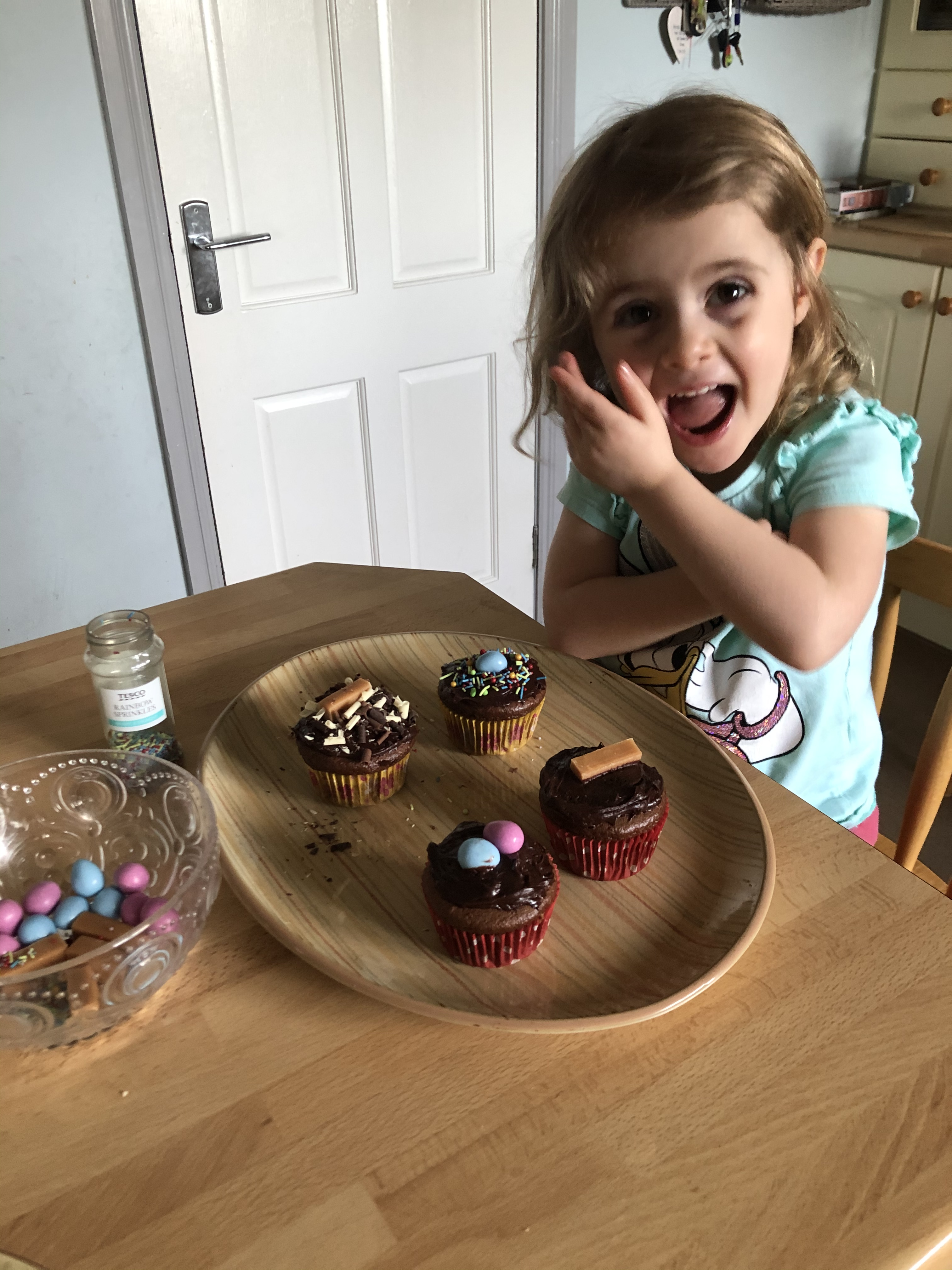 Lucy does some baking!