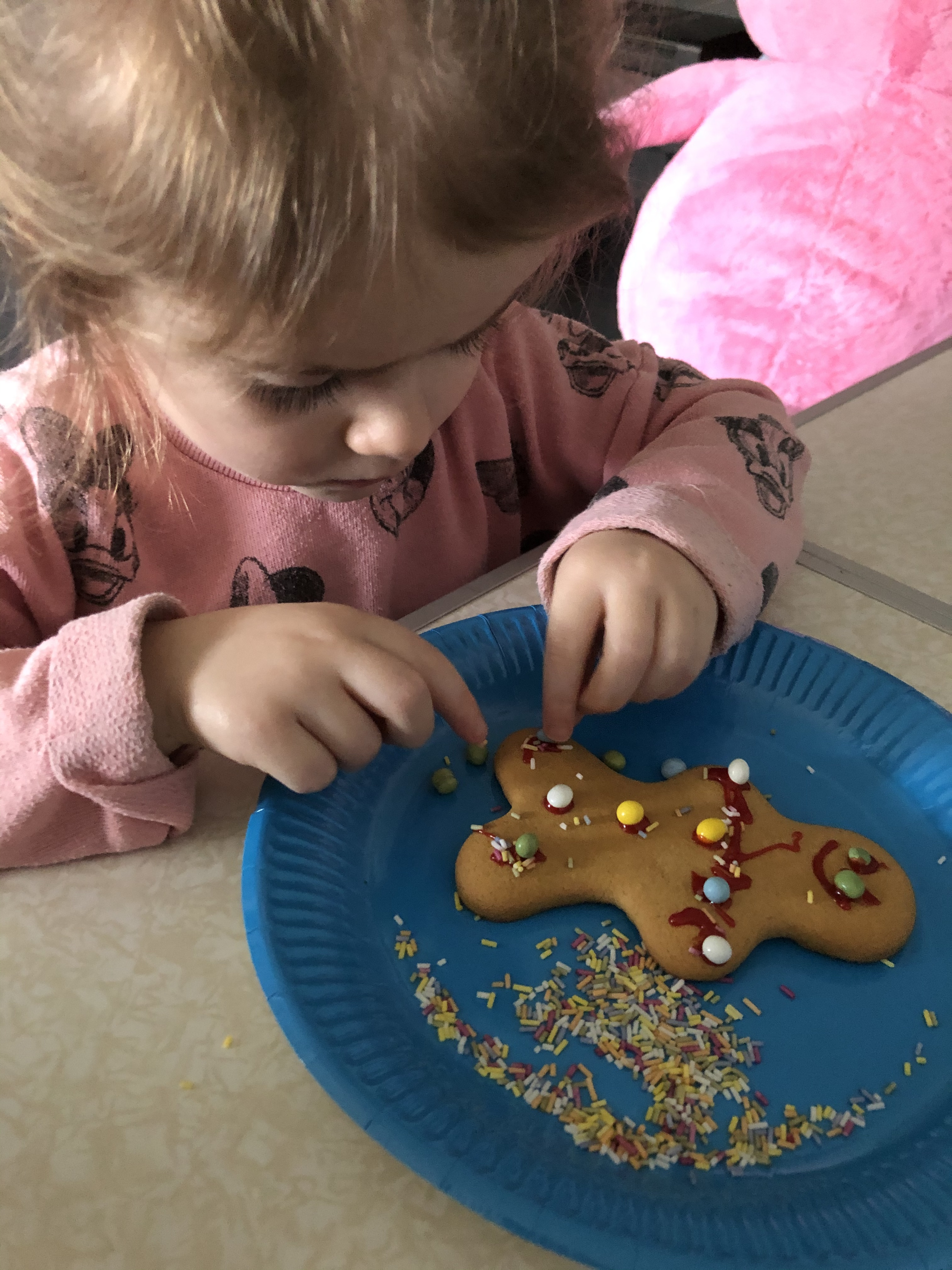 Lucy's Gingerbread Man!