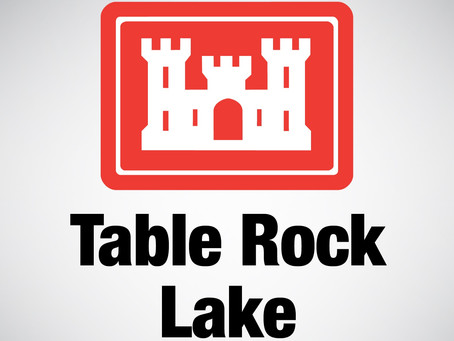Nine Gates Open at Table Rock Dam