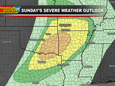 All Modes of Severe Weather Possible Tonight: Noon Update