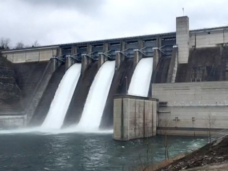 Breaking:  Army Corps of Engineers to begin Beaver Lake release at approximately 5:00 p.m. Tuesday