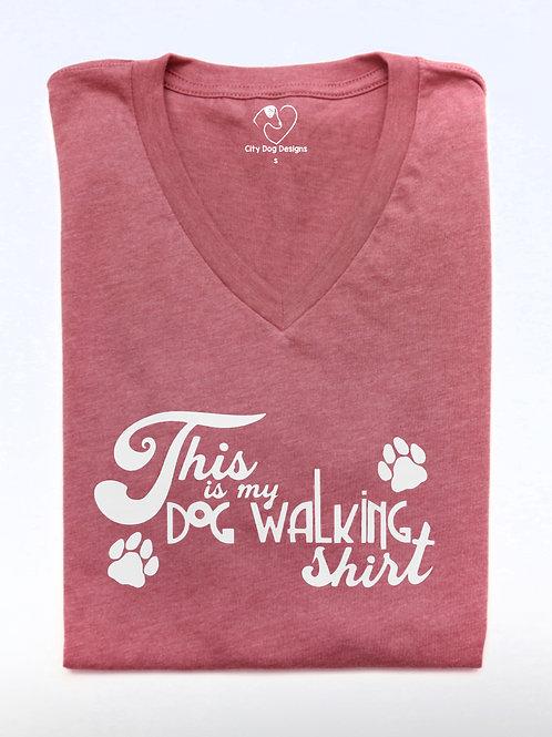 Dog Walking Shirt  Womans, Mens, Childrens   Unisex Shirt   customizable