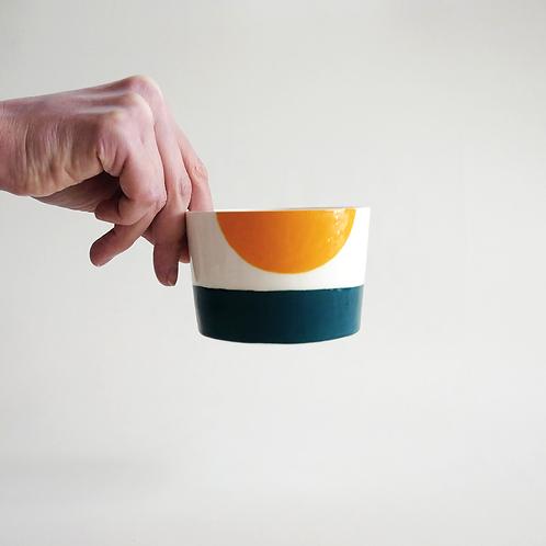 "Cup "" Soleil Couchant """