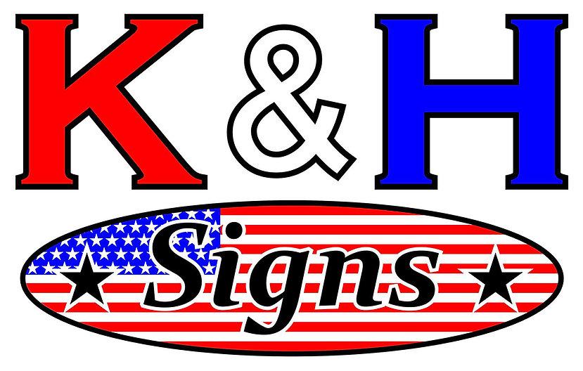 K&H Signs Logo