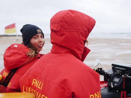 In Conversation with RNLI Lifeguard, Ellie Wainwright.
