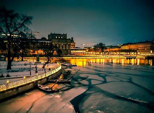 Postcard #29, Stockholm