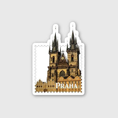 Sticker #14, Praha