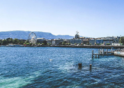 Postcard #24, Geneva