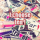 ten stickers
