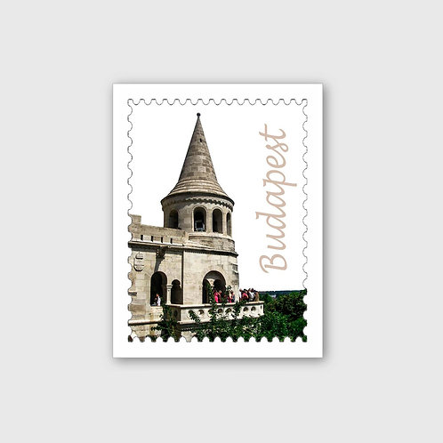 Sticker #15, Budapest