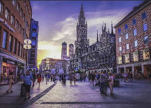 Postcard #16, Munich