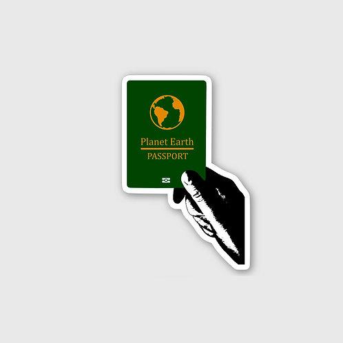 Sticker #3, Passport
