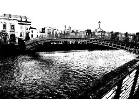 Postcard #3, Dublin