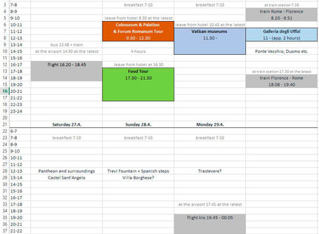 To schedule or not to schedule?