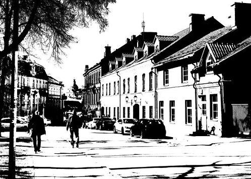 Postcard #7, Vilnius