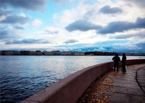 Postcard #11, St. Petersburg