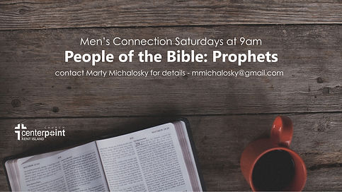 CPKI Mens Study- Prophets of the Bible 4