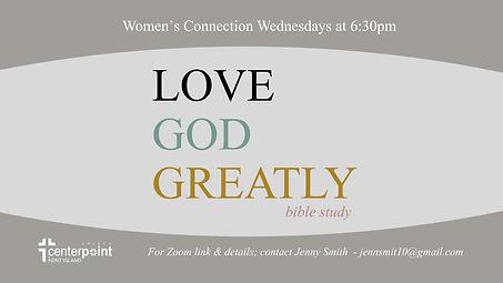 CPKI Womens Study- Love God Greatly 1-20