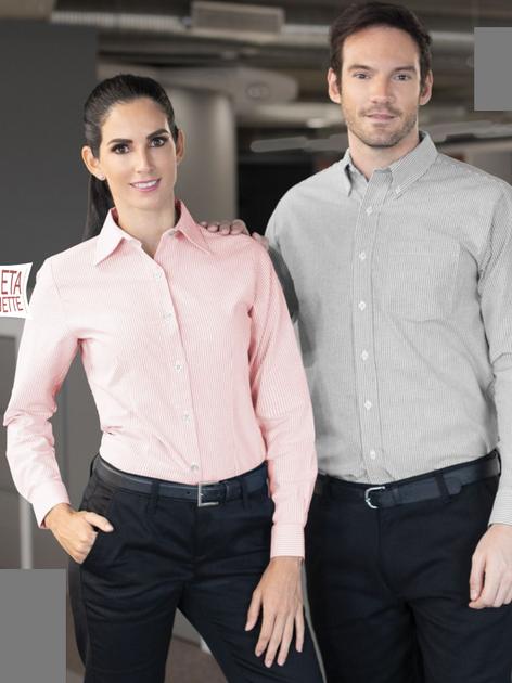 Camisa Oxford Mil Rayas ML