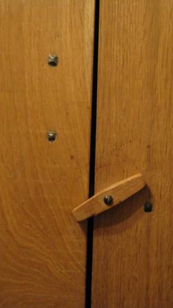 Hand made oak cupboard